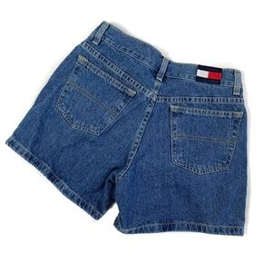Tommy Hilfiger Blue Denim Jean Shorts Women's 5